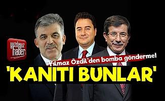 Yılmaz Özdil'den AKP'ye Ispatlı, Kanıtlı Yazı!