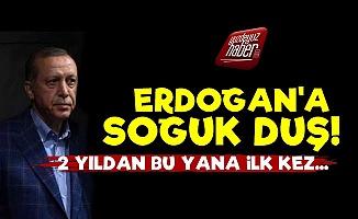 Erdoğan'a Soğuk Duş! İki Yıl Sonra İlk Kez...