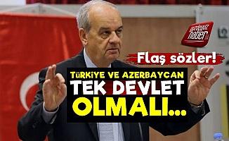 İlker Başbuğ: Türkiye Azerbaycan Tek Devlet Olmalı