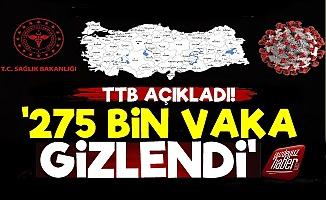 TTB Raporu: 275 Bin Vaka Gizlendi...