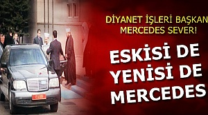 ESKİSİ DE MERCEDES YENİSİ DE...