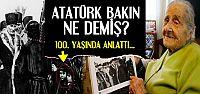 100 YAŞI GERİDE BIRAKTI...