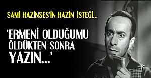 HAZİNSES'İN HAZİN ÖYKÜSÜ...
