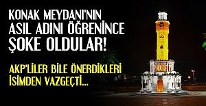 İZMİR'İN EN MEŞHUR MEYDANI AMA...