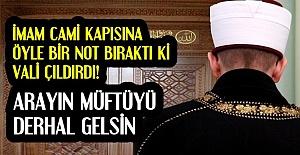 SAFRANBOLU'NU KARIŞTIRAN NOT!
