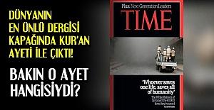 TİME DERGİSİNDE KUR'AN AYETİ...