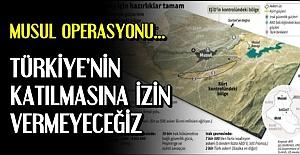 'TÜRKİYE'YE İZİN VERMEYECEĞİZ'
