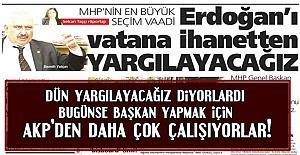 YİNE BİR MHP KLASİĞİ...