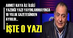 10 YILI BİR KALEMDE SİLİP ATTI...