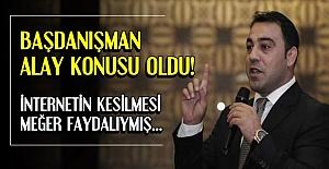 BAŞDANIŞMAN İÇİN 'SANSÜR' BUYMUŞ...