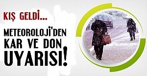 METEOROLOJİ'DEN FLAŞ UYARI!