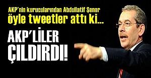 ABDULLATİF ŞENER AKP'LİLERİ ÇILDIRTTI!