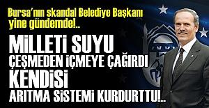 DEMEK Kİ 'SU ÇEŞMEDEN İÇİLMEZMİŞ'...