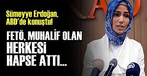 SÜMEYYE ERDOĞAN FETÖ'YÜ ANLATTI...