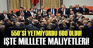 BEYLERİN MAAŞLARINI SEN ÖDEYECEKSİN EY MİLLET!