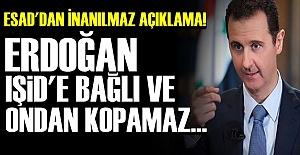 'ERDOĞAN IŞİD'E VE EL KAİDE'YE BAĞLI...'