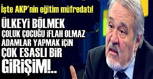 HOCAMIZDAN 'MÜFREDATA' SERT TEPKİ!..