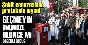 ŞEHİT YAKINLARINDAN ANLAMLI TEPKİ!..