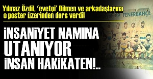 UTANÇ MÜZESİNDE BİR POSTER!..
