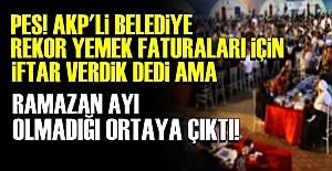 AKP'Lİ BELEDİYEDE SKANDAL!..