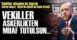 BİR DE VATANA HİZMET DİYORLAR!..
