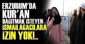 DEV ORGANİZASYONDA 'KUR'AN' DAĞITMA GİRİŞİMİ!..