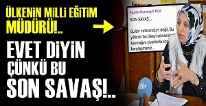 DEVLETİN MÜDÜRÜ PROPAGANDA YAPTI!..