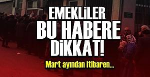 EMEKLİLER DİKKAT!
