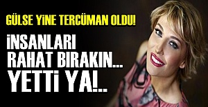 GÜLSE BİRSEL'DEN REFERANDUM TEPKİSİ!..