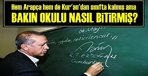 İKİ DERSTEN SINIFTA KALMIŞ AMA...