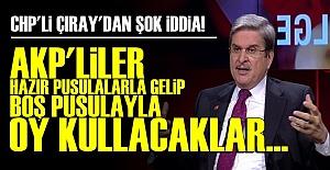 AYTUN ÇIRAY'DAN ŞOK İDDİA!