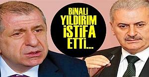 BİNALİ YILDIRIM İSTİFA ETTİ!