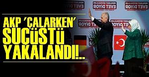 'ÇALARKEN' YAKALANDI!..