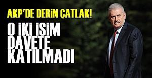 İKİSİ DE DAVETE KATILMADI!