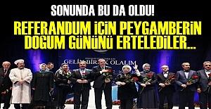 PEYGAMBERİN DOĞUM GÜNÜ ERTELENDİ!
