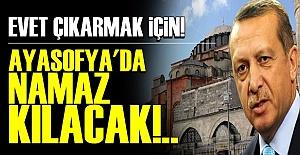 ŞİMDİ DE AYASOFYA KARTI!..