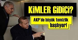 AK PARTİ'DE TEMİZLİK OPERASYONU BAŞLIYOR!