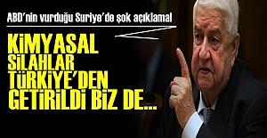 'KİMYASAL SİLAH TÜRKİYE'DEN GETİRİLDİ'