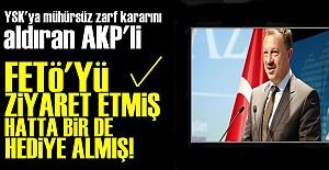 O AKP'Lİ FETÖ'DEN HEDİYE ALMIŞ!..