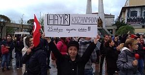 TEPKİLER ÇIĞ GİBİ...