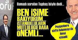 KADİR TOPBAŞ'TAN DAMAT AÇIKLAMASI!