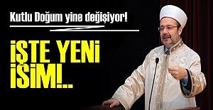 KUTLU DOĞUM YİNE DEĞİŞİYOR!..