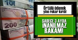 ÖRTÜLÜ DE REKOR BİTMİYOR!..