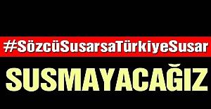 SÖZCÜ'YE 'ALGI' OPERASYONU!..