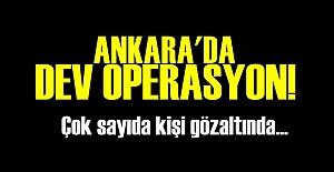 3 BİN POLİSLE DEV OPERASYON!
