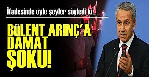 DAMAT ADRES OLARAK ARINÇ'I İŞARET ETTİ!