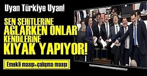 VEKİLLER İYİCE AZITTI! ÇİFTE MAAŞ...