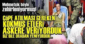 YEMEK FİRMASI ÇALIŞANLARINDAN BOMBA SÖZLER!