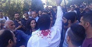POLİS: 'KUSURA BAKMA SİZİ HDP'Lİ SANDIK...'