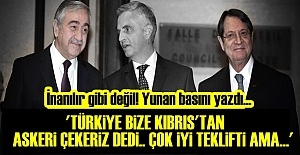 YUNANLILARA 'MEHMETÇİĞİ ÇEKME' TEKLİFİ YAPILMIŞ!